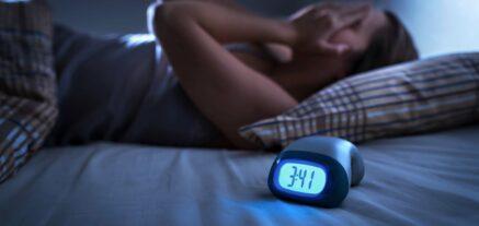 Patient experiencing insomnia